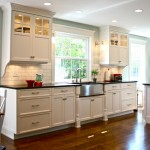 Leland Furniture for Traditional Kitchen with Subway Tile