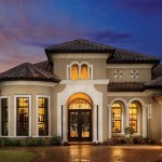 Lennar Homes Florida for Mediterranean Exterior with Bay Window