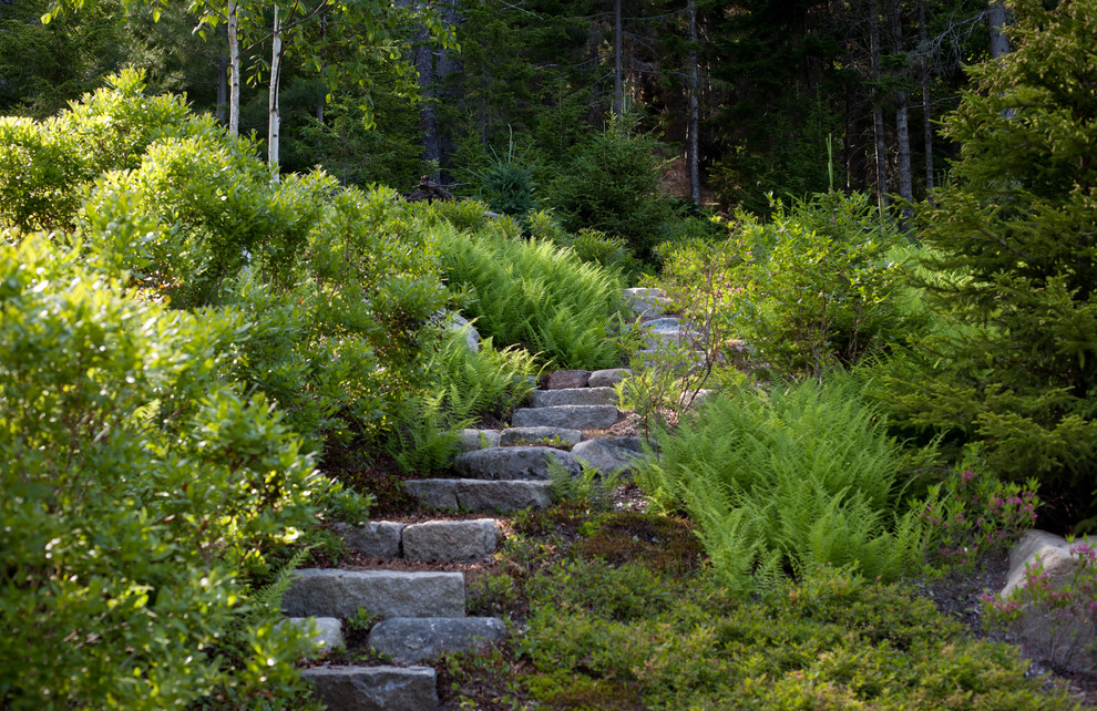 Lexus Woodland Hills for Rustic Landscape with Outdoor Staircase