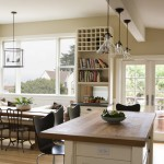 Light Bulb Depot for Farmhouse Kitchen with Butcher Block Counters