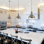 Light Bulb Depot for Traditional Kitchen with Pendant Lights