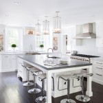 Lightbright for Transitional Kitchen with Stainless Hood