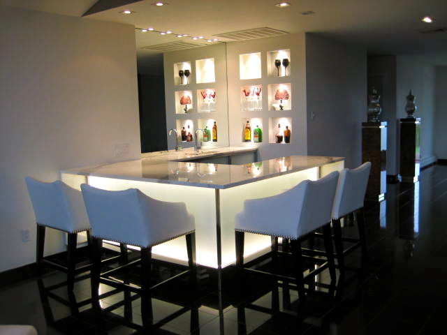lightingdirect.com for Contemporary Wine Cellar with Led Lighting