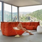 Ligne Roset Nyc for Modern Living Room with Window