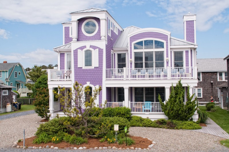 Lila Delman Real Estate for Beach Style Exterior with Landscaping