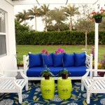 Lime Lush Boutique for Beach Style Patio with Green Stools