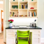 Lime Lush Boutique for Transitional Home Office with Frame and Panel Cabinets