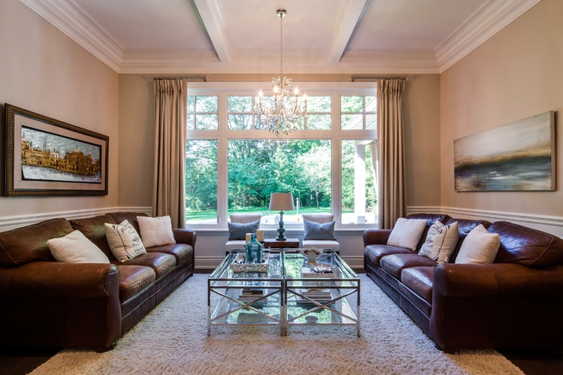 Lionsgate Homes for Contemporary Living Room with Picture Window