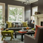 Living Room Ideas Pinterest for Transitional Living Room with Brown Chair