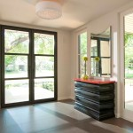 Loewen Windows for Contemporary Entry with Foyer