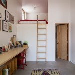 Lofting for Contemporary Home Office with Leaning Artwork