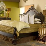 Lofting for Eclectic Bedroom with Theodore Alexander