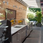 Lone Star Bbq for Contemporary Deck with Marble Countertop
