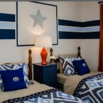 Lone Star Bbq for Contemporary Kids with Orange Drapes