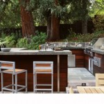 Lone Star Bbq for Contemporary Patio with Bluestone Paving