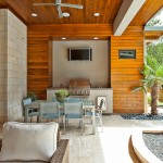 Lone Star Bbq for Contemporary Patio with Wood Siding