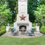 Lone Star Bbq for Traditional Patio with Metal Star