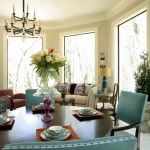 Lorts for Eclectic Dining Room with Purple