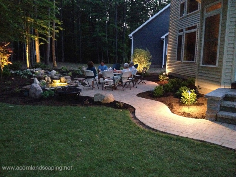 Lowes Albany Ny for Traditional Patio with Lighting Installer Rochester