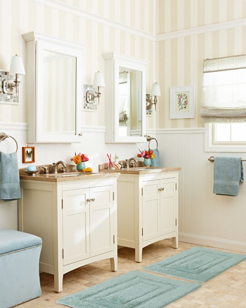 Lowes Conway Ar for Traditional Bathroom with Brushed Nickel