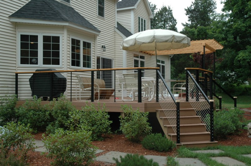 Lowes Danbury Ct for Traditional Deck with Ne Haven County Ct Decks