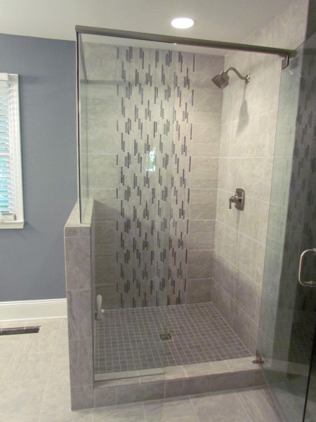 Lowes Easley Sc for Contemporary Bathroom with Vertical Linear Tile