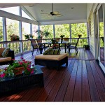Lowes Gaithersburg for Traditional Deck with Screen Room Maryland