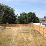 Lowes Grandville for Traditional Landscape with Cedar Privacy Picket