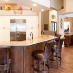 Lowes Oviedo for Transitional Kitchen with Schuler Sorrento Knotty Alder