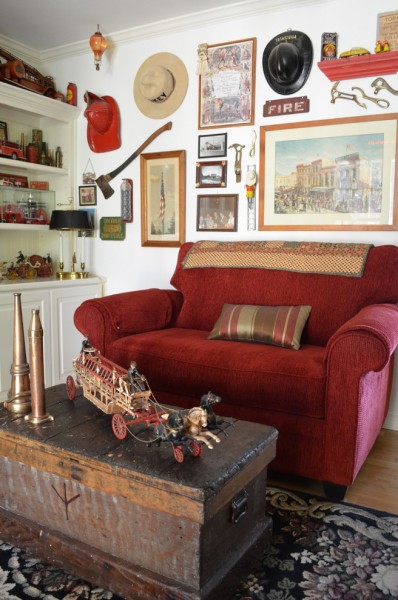 Lowes Paso Robles for Farmhouse Family Room with Wall