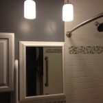 Lowes State College for Contemporary Bathroom with Pendant Lights