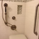Lowes State College for Contemporary Bathroom with Shower Seat