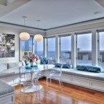 Lowes Torrance for Contemporary Dining Room with Oversized Photography