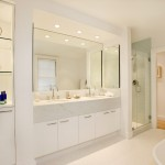 Lowes Torrance for Modern Bathroom with White Cabinets