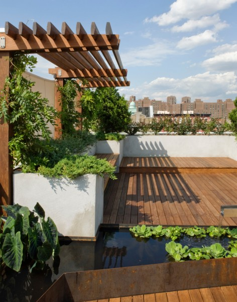 Lumber Liquidators Reviews for Contemporary Landscape with Roofdeck