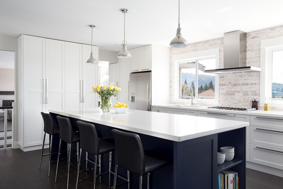 Luminere for Contemporary Kitchen with Kitchen Island
