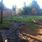 Luminere for Traditional Landscape with Retaining Wall