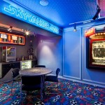 Madison Nj Movie Theater for Contemporary Home Theater with Concession Stand
