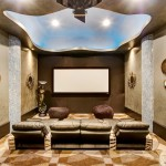 Madison Nj Movie Theater for Eclectic Home Theater with English Tudor
