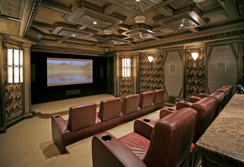 Madison Nj Movie Theater for Traditional Home Theater with Soundproofing