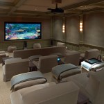 Mainvue Homes for Traditional Home Theater with Blankets