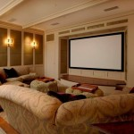 Maplewood Theater for Traditional Home Theater with Traditional