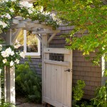 Marborg Santa Barbara for Traditional Landscape with Wood Gate