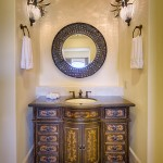 Marcor for Mediterranean Powder Room with Another Fabulous Marcor Home
