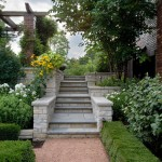 Mariani Landscape for Traditional Landscape with Stone Container
