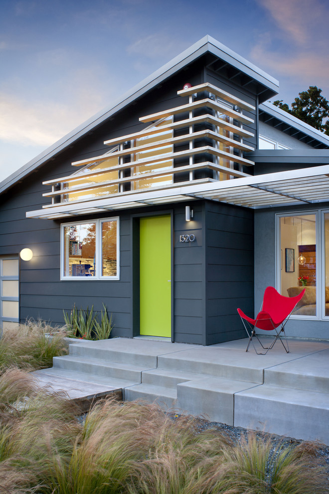 Marlette Homes for Midcentury Exterior with Long Grass