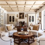 Marquis Furniture for Mediterranean Living Room with Framed Art