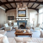 Masco Contractor Services for Beach Style Family Room with White Trim