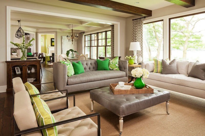 Massage Envy Palm Springs for Transitional Living Room with Contemporary