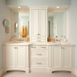 Masterbrand Cabinets for Traditional Bathroom with Gray Walls